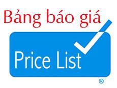 Bảng Giá