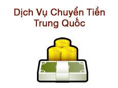 Vận Chuyển Việt Nam - China