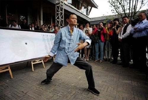 Jack Ma, con người yêu thể thao