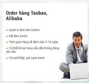 Ưu điểm dịch vụ order hàng taobao.com, nap tiền alipay của oderquangchau24h