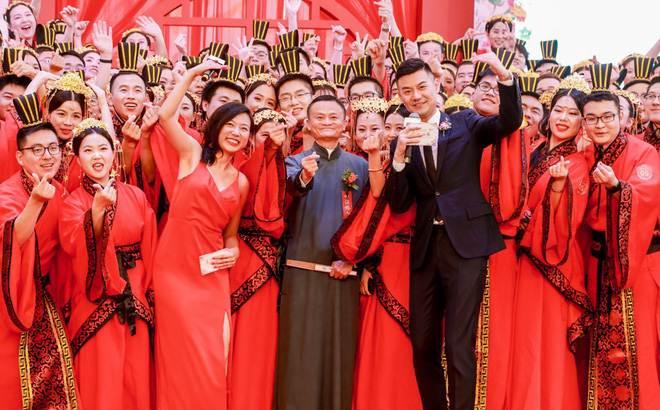 Ali Day: Lễ kết hôn tập thể do CEO Alibaba Jack Ma làm chủ hôn