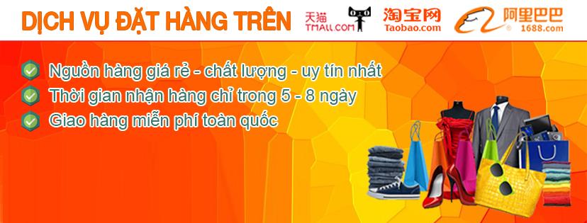 Dịch vụ đặt hàng hộ, mua hàng từ Tmall, 1688, Taobao tại TP HCM