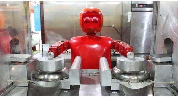 Siêu thị bằng robot đầu tiên ở trung quốc