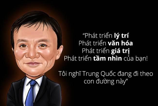 """Jack Ma Alibaba : 15 câu nói """"bá đạo"""" đầy thâm thúy"""