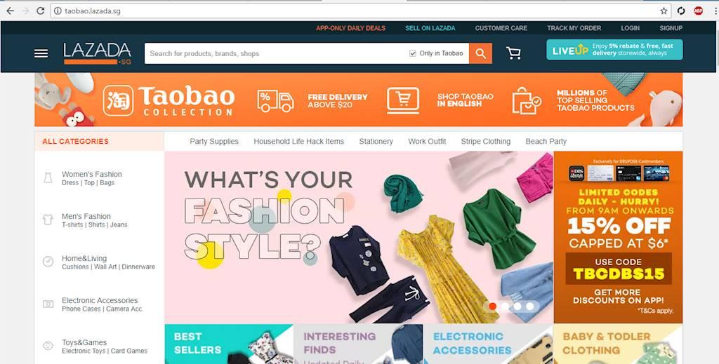 Lazada bắt đầu bán hàng của Taobao, thực hiện tham vọng Đông Nam Á của Alibaba