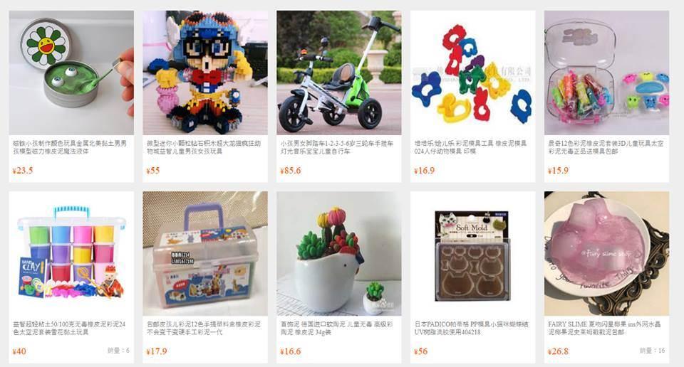 Order đặt hàng đồ chơi trẻ em