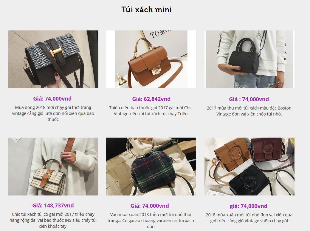 Order túi xách, ví cầm tay quảng châu, giá rẻ tận gốc, nhiều mẫu mã !