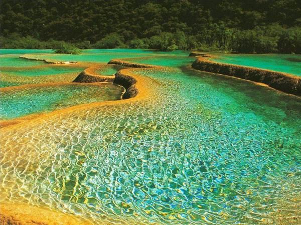Thung lũng Jiuzhaigou tuyệt đẹp