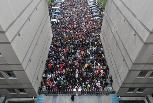 Khốc liệt kỳ thi đại học tại Trung Quốc